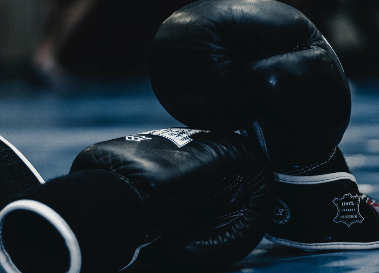 elegir talla guantes boxeo